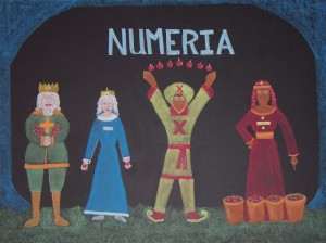 Royal Family of Numeria - 1st Grade