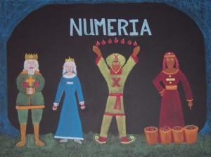 Royal Family of Numeria - 1st Grade